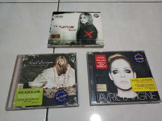 CD avril lavigne 3 album
