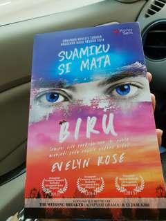 Novel Suamiku SiMata Biru by Evelyn Rose