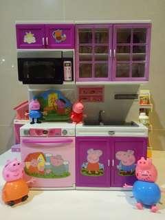 佩佩豬廚房玩具組合