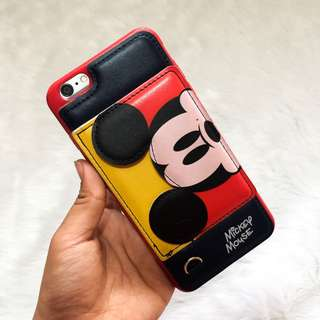 Mickey Mouse leather case for iPhone 6 plus/6S plus
