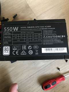 Cooler Master MWE 550W 電腦火牛電源