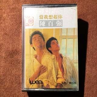 Danny Chan 陳百強 WEA cassette tape