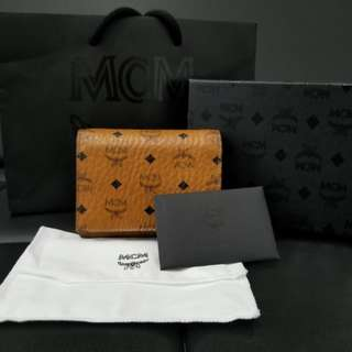AUTHENTIC MCM BIFOLD WALLET