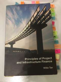Principles of Project & Infrastructure Finance