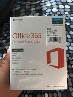 Office 365 year subscriptions