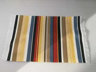 Dollhouse Miniature : A piece of strip design carpet