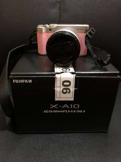 [Serious Buyer Only] FUJIFILM XA10 PINK