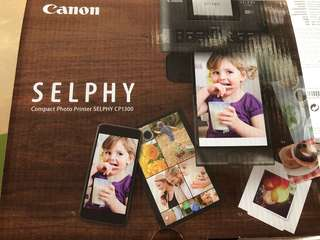 Canon compact photo printer Selphy CP1300