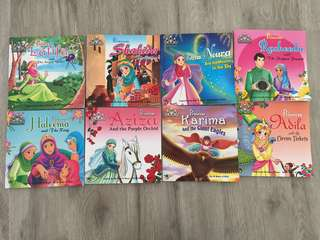 Islamic Princess Book Set of 8
