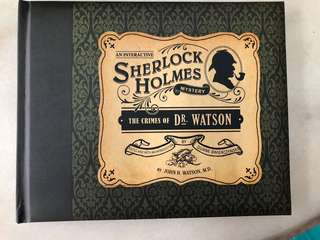 An Interactive Sherlock Holmes Mystery - The Crimes of Dr Watson