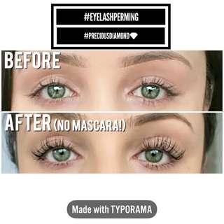 Eyelashes Perming 🔥