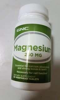 GNC Magnesium 250mg 90capsules