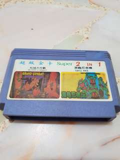 Microgenius 2 in 1 game - chip and dale ninja turtle