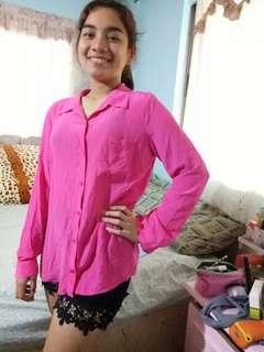 Pink longsleeve