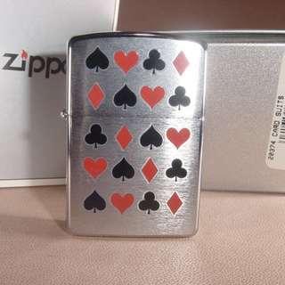 美國 Zippo 打火機20374 CARD SUITS❤️新春抽獎禮物
