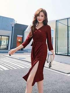 Red Elegant Dress