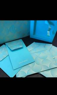 💌2017 Tiffany & Co (Branded) Festival Packets / Angpao / Red Packets/ Cny Packets / Raya Packets / Sampul Duit Raya