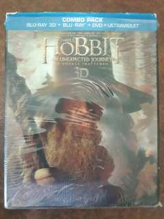 The Hobit Trilogy Bluray DVD