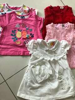 (Preloved) Babies blouses