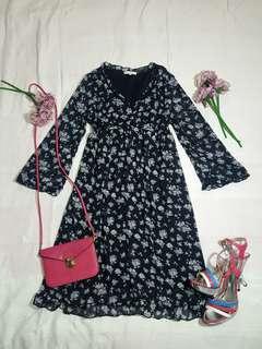 Glacier Floral Dress