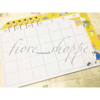 Monthly Desk Planner Pad