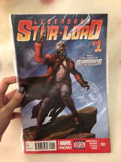 Legendary Star Lord Marvel Comics 001