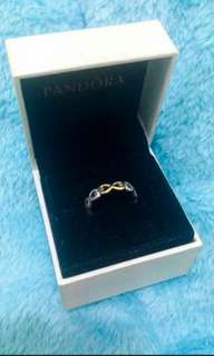 Pandora Infinity Love Ring (zirconia crystals)