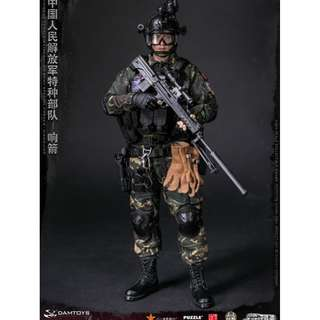 PRE-ORDER : Dam Toys 78048 - Elite Series - Chinese People's Liberation Army Special Forces - Xiangjian