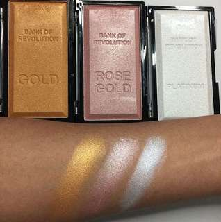 Ingot Highlighter by Makeup Revolution