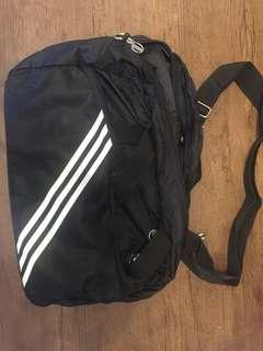 Adidas 休閒運動袋(黑色)