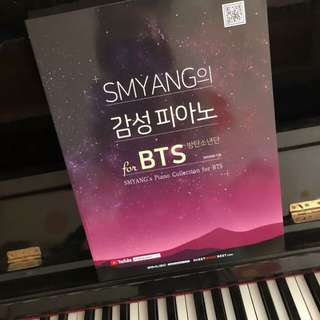 SMYANG OFFICIAL PIANO SHEET FOR BTS