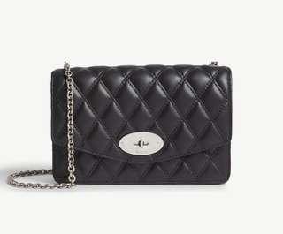 Mulberry 黑色chain bag