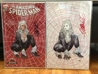 Amazing Spider-man #799 Frank Cho signed