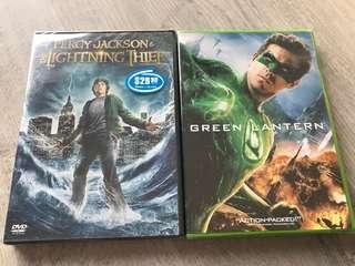 Original movie dvds for sale: superhero and kids fav