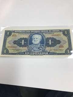 老纸币一枚