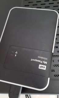 WD My Passport Wireless Portable Hard Drive 2TB, SD card auto backup