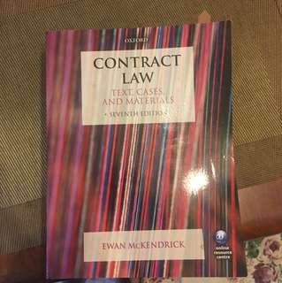 Contract Law by McKendrick 7th edition