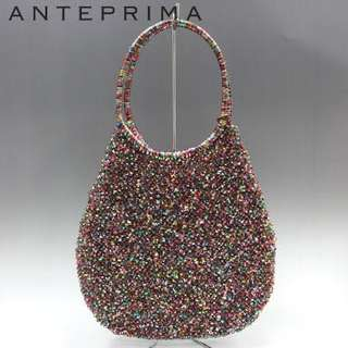 Authentic ANTEPRIMA RARE MULTICOLOR RED WIRE BAG