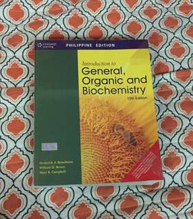 Introduction to General, Organic and Biochemistry 10th Ed