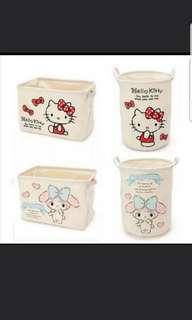 In Stock Hello Kitty Laundry Basket My Melody Laundry Basket
