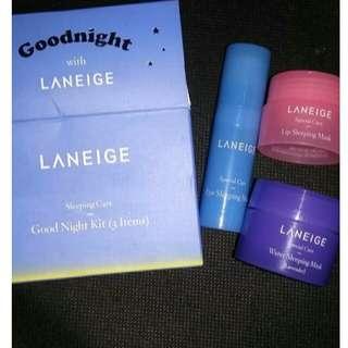 Laniege sleeping mask kit (3item)