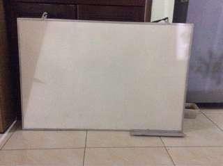 Papan tulis white board preloved