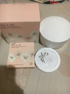 Paul and joe loose face powder refill and powder box. All new. Freongkir jabodetabek