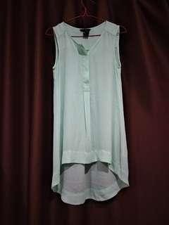 GRATIS H&m Light green sleeveless top