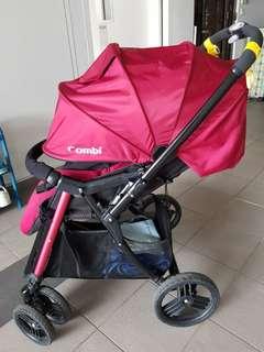 🚚 Combi stroller mega ride pram toddler to kids and baby infant