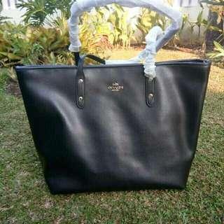 Coach totebag city zip leather original