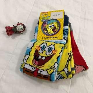 Spongebob socks from Mothercare 2