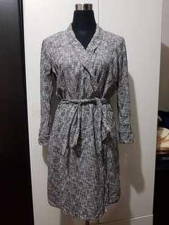 Preloved Black Shop Office Dress Large