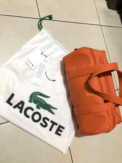 Lacoste medium bowling bag Authentic (bought in megamall)