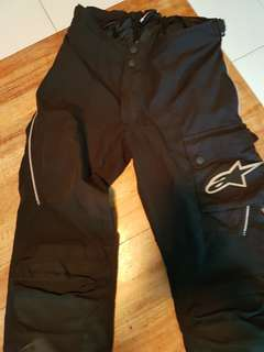 Alpine Star Motorcycle Riding Pants - Men